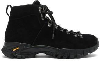 Diemme Maser Lt. Hiker Suede Boots - Black
