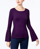 INC International Concepts Bell-Sleeve Sweater, Created for Macy's