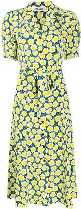 Dvf Diane Von Furstenberg Daica button-through midi dress
