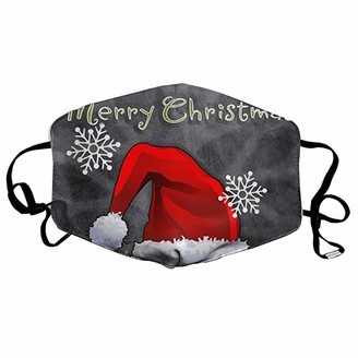 Ac1 Christmas Adult Washable Anti-Spitting Headband Balaclavas Bandana s 1PCS