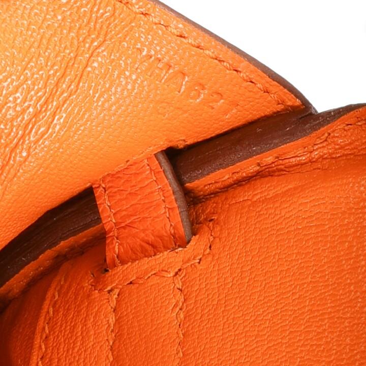 Thumbnail for your product : Hermes Orange Taurillon Novillo Leather Gold Hardware Birkin 25 Bag