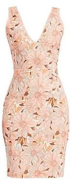 Stella McCartney Women's Bloomer Floral Sleeveless Mini Dress