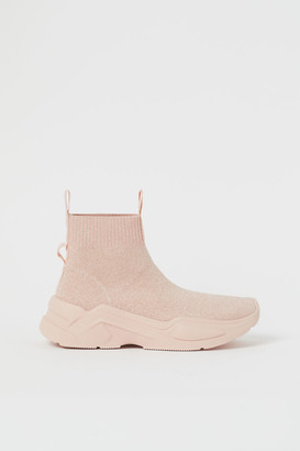 H&M Fully-fashioned hi-tops