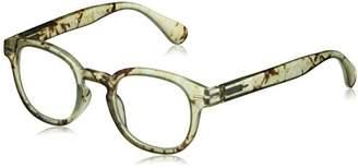 Peepers Unisex-Adult Quarry 2357100 Round Reading Glasses