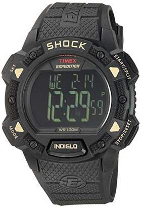 Timex Men's T49896 Expedition Base Shock Resin Strap Watch