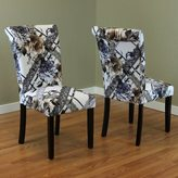 Monsoon Voyage Flower Print Dining Chairs (Set of 2)