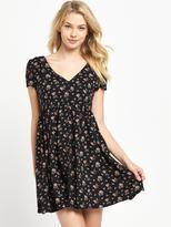 Denim & Supply Ralph Lauren Ralph Lauren Button Front Floral Dress - Sandford Floral