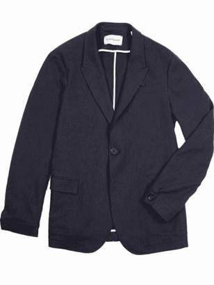 Oliver Spencer Caldwell Navy Brookes Jacket - 44 - Blue