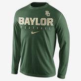 Nike College Practice Football (Baylor) Men's Long Sleeve Top