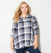Avenue Plaid Pocket Tunic