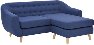 ClaudiaFabric 3 Seater Right Hand Corner Chaise Sofa