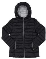 Point Zero Black Hooded Puffer Jacket