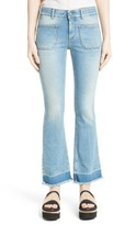 Stella McCartney Women's Crop Flare Jeans