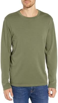 Frame Raw Hem Slim Fit Crew Neck T-Shirt