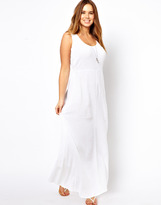 Asos Exclusive Maxi Dress In Cheesecloth