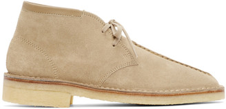 Lemaire Taupe Suede Desert Boots