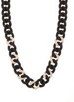 ABS by Allen Schwartz Chain-Link Collar Necklace