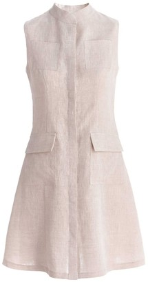 Dressarte Paris Linen Sleeveless Dress