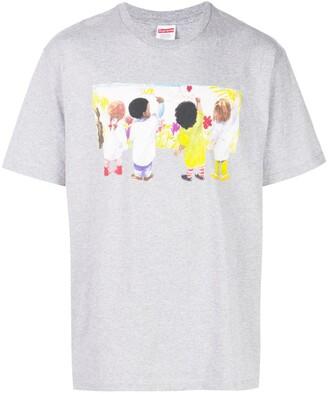 Supreme Kids print T-shirt