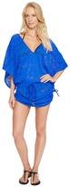 Luli Fama Tropical Princess Cabana V-Neck Dress Cover-Up Women's Swimwear