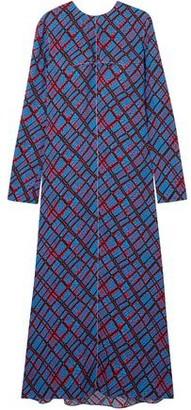Marni Printed Crepe Maxi Dress