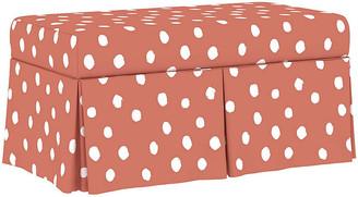 One Kings Lane Hayworth Storage Bench - Pink Linen
