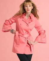 INC International Concepts ®  Trench Coat with Lantern Sleeves