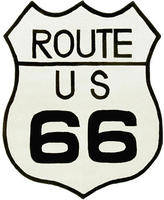 Route 66 St. Croix Trading Company 4 x 5 foot Rug Design