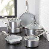 Crate & Barrel GreenPan TM Venice Pro 10-Piece Cookware Set