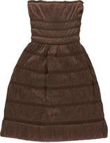 Alaia Sleeveless Ruched Dress