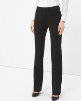 White House Black Market Petite Seasonless Bootcut Black Pants