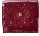 Louis Vuitton Purple Monogram Vernis Leather Elise