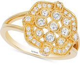 LeVian Le Vian® Deco Estate Diamond Ring (1/2 ct. t.w.) in 14k Gold
