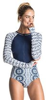 Roxy Women's Visual Touch Onesie Long Sleeve Rashguard