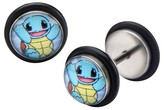 Pokemon Squirtle Stainless Steel Screw Back Earrings