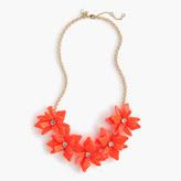 J.Crew Girls' neon flower necklace