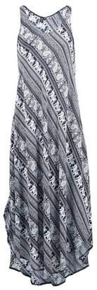 Dorothy Perkins Womens *Izabel London Blue Elephant Print Maxi Dress, Blue