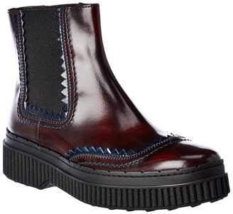 Tod's Chelsea Leather Boot