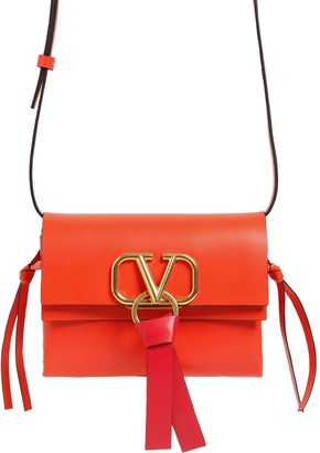 Valentino Vring Leather Crossbody Bag