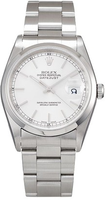 Rolex 2002 pre-owned Datejust 36mm