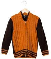 Etro Boys' Wool Zip-Up Sweater