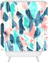 Deny Designs Wonder Forest Different Strokes Shower Curtain