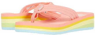 Reef Kids Ahi Wedge (Toddler/Little Kid/Big Kid) (Bleached Neo) Girls Shoes