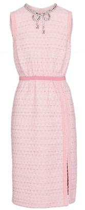 Giambattista Valli Embellished tweed midi dress