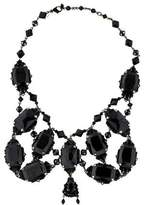 Erickson Beamon Crystal Embellished Bib Necklace