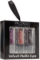 Palladio Holiday Velvet Matte Trio Giftset