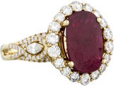 Ring Ruby & Diamond