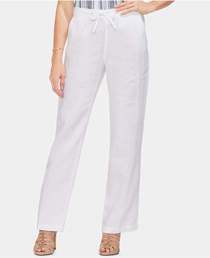 0a712c26c4 Drawstring Linen Pants Womens - ShopStyle