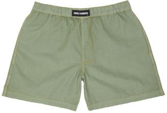 Double Rainbouu Khaki Linen Boxers