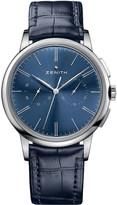 Zenith 032272406951C700 Elite Chronograph classic blue watch